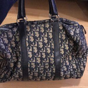 Vintage Dior Bag (duffle bag)